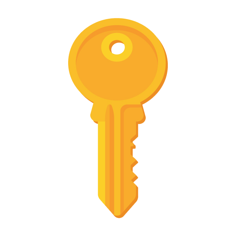 yellow key